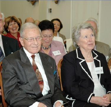 Frans Quinteyn met zijn tweede echtgenote Elisabeth